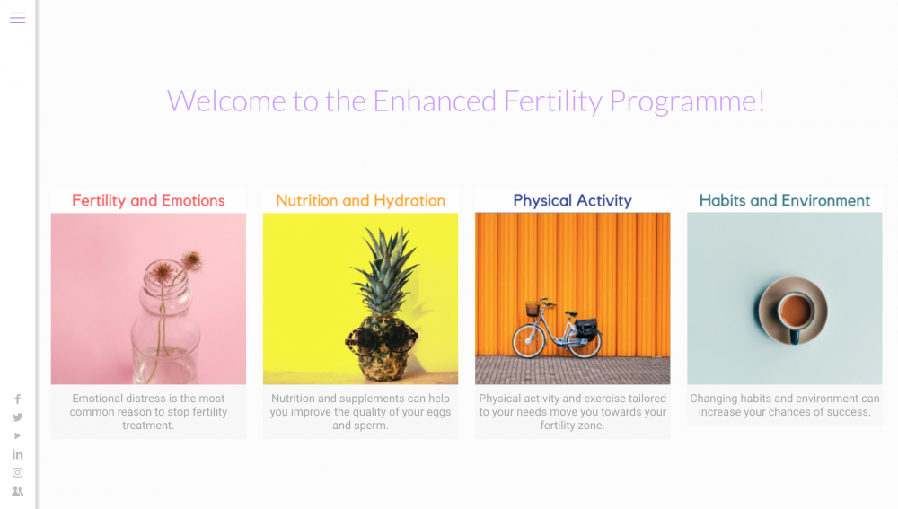 Enhanced Fertility Programme